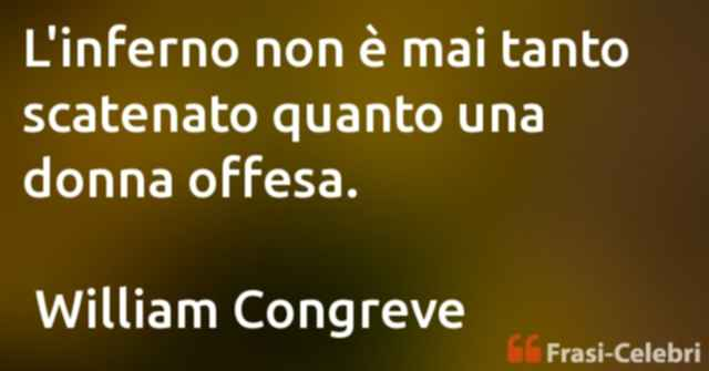 frasi di William Congreve