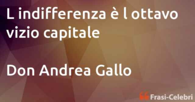 frasi di Don Andrea Gallo
