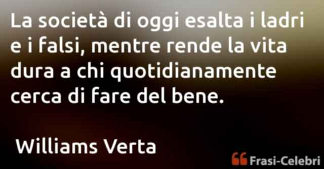 frasi di Williams Verta