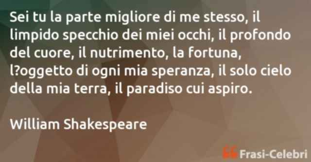 frasi di William Shakespeare